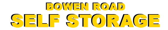 Bowen Road Self Storage Logo