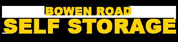 Bowen Road Self Storage Logo